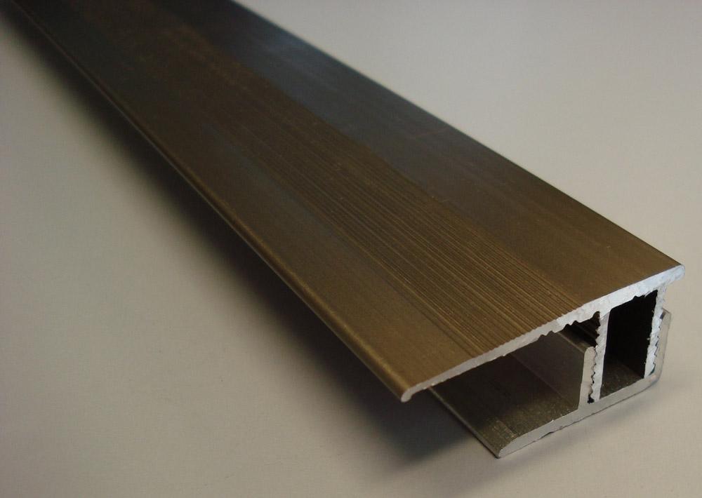 Aluminium Wall Ends 14mm