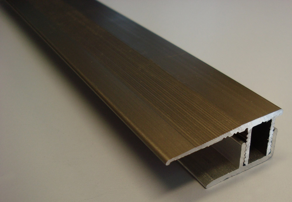Aluminium Wall Ends 8-12mm